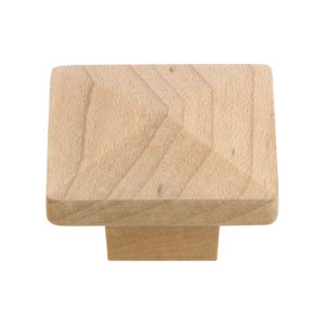 Eclectic Maple Wood Knob - 115