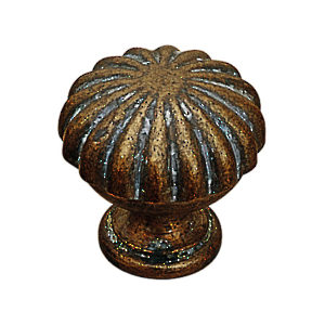 Traditional Brass Knob - 1683