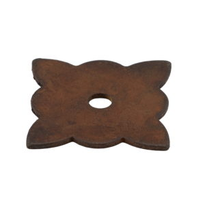 Traditional Forged Iron Rosette for Knob - 213