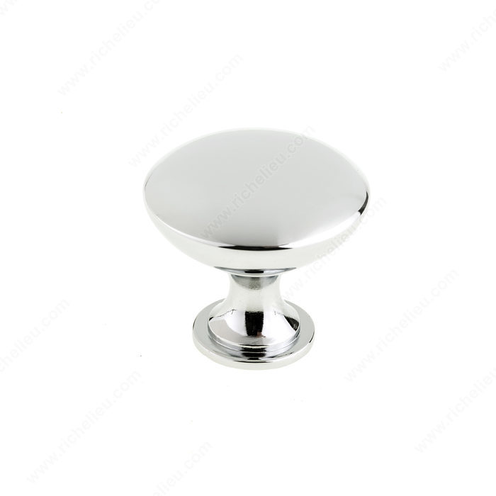 BP2391230BORB 2391 Richelieu Hardware Traditional Metal Knob Brushed Oil-Rubbed Bronze  Finish