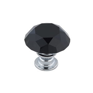 Contemporary Crystal Knob - 3030