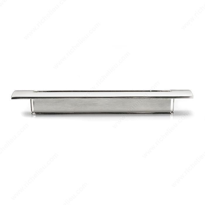 Richelieu Hardware Contemporary Recessed Aluminum Pull 3100