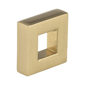Contemporary Metal Knob - 3160