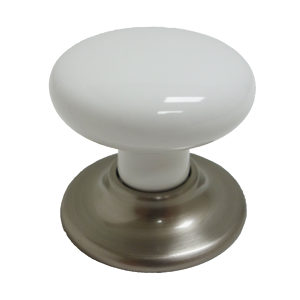 Classic Ceramic and Metal Knob - 3215