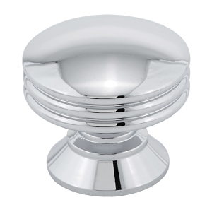 Contemporary Metal Knob - 356