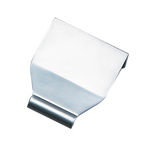 Contemporary Metal Edge Pull - 3862