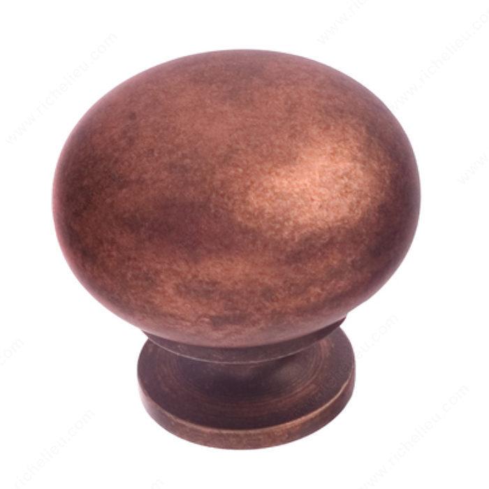 bouton traditionnel en laiton 3923 quincaillerie richelieu. Black Bedroom Furniture Sets. Home Design Ideas