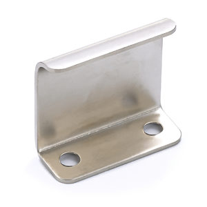 Contemporary Metal Edge Pull - 3966