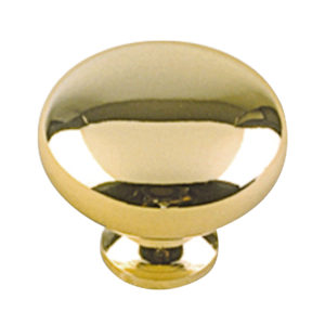 Traditional Brass Knob - 4923
