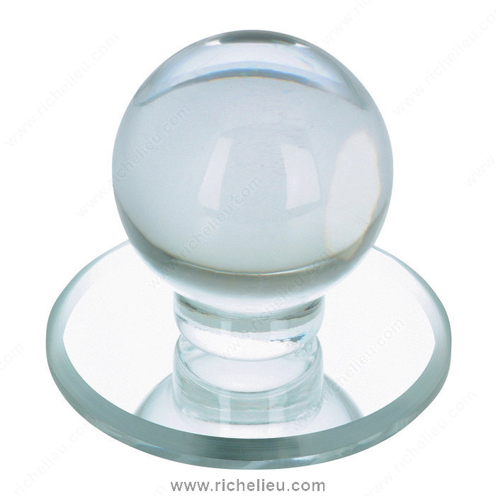 Contemporary Acrylic Knob for Glass Doors - 503-1