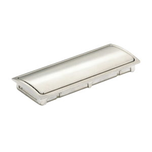 Contemporary Recessed Metal Pull - 721