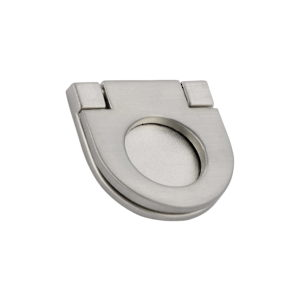 Contemporary Recessed Metal Pull - 7732