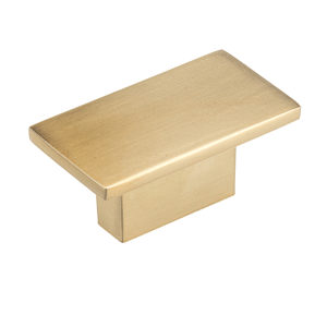 Contemporary Metal Knob - 810
