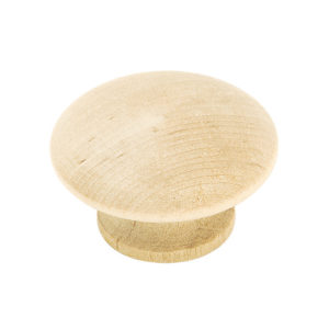 Solid Wood Knob - 1-1/2""