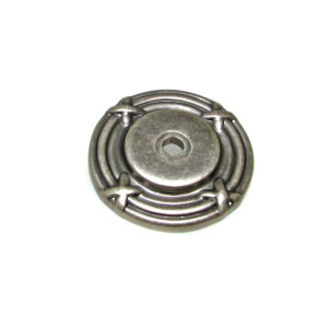 Traditional Metal Rosette for Knob - 8291