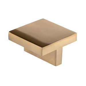 Contemporary Metal Knob - 841