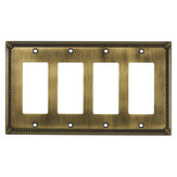 Switch plate 4 Decora - Traditional Style