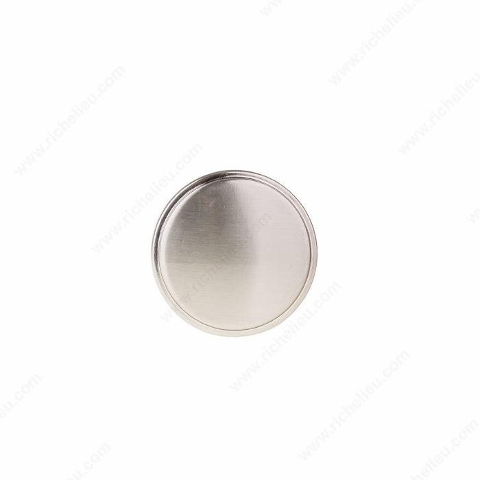 Richelieu Hardware Contemporary Metal Knob 8726