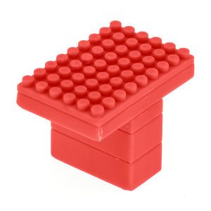 Contemporary Plastic Knob - 8729