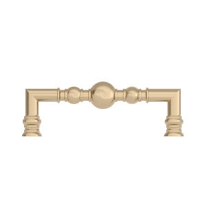 Richelieu Hardware - Brushed Nickel  Finish Traditional Metal Pull BP8789128195 128 mm 8789-5 1//32 in