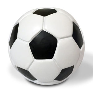 Eclectic Resin Soccer Knob - 9347
