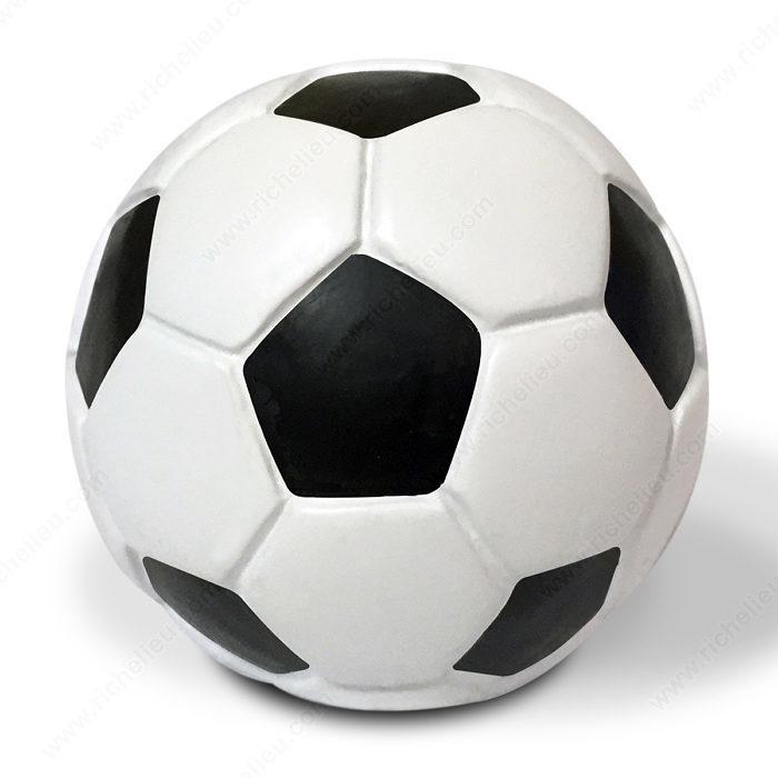 bouton clectique en forme de ballon de soccer 9347 quincaillerie richelieu. Black Bedroom Furniture Sets. Home Design Ideas