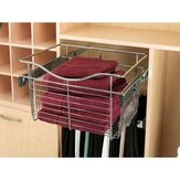 Pull-Out Wire Basket, Satin Nickel
