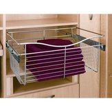 Chrome Wire Pull-Out Basket