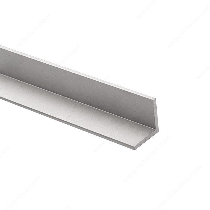 Anodized Aluminum 90° Angle Molding, 2 Equal Sides