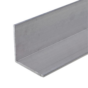 Aluminum 90° Angle Molding, 2 Equal Sides