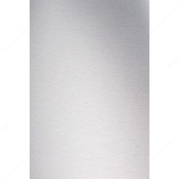 Decorative Metal Panel - Brushed Aluminum-1