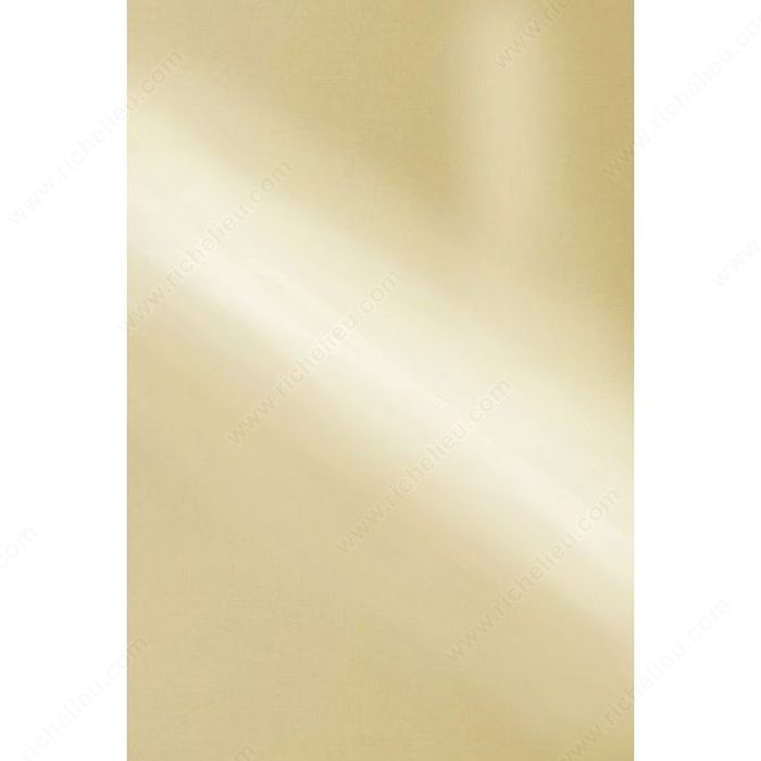 Decorative Metal Sheet Polished Brass Richelieu Hardware