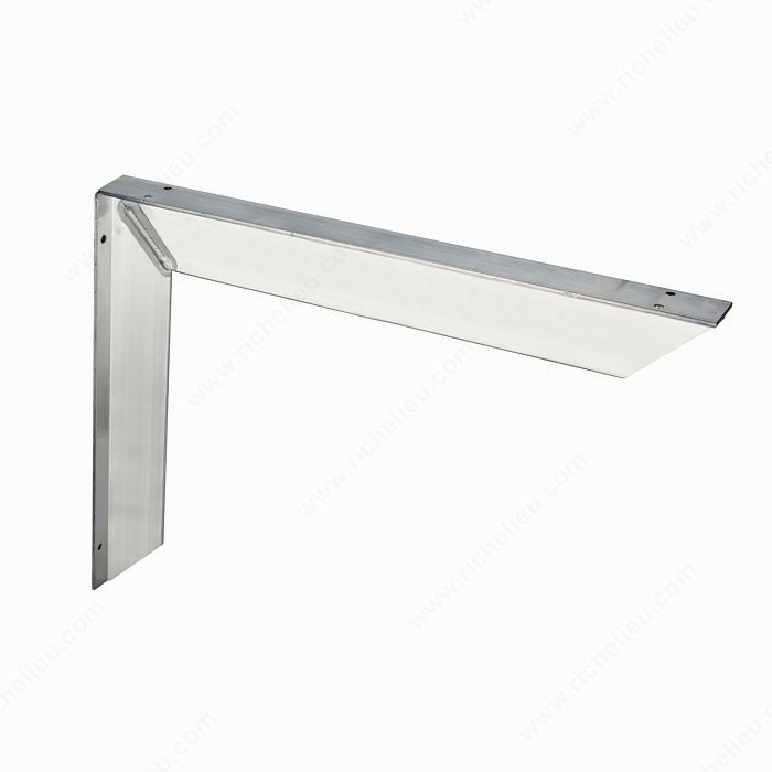 Extra heavy duty countertop bracket richelieu hardware for Cantilever counter support