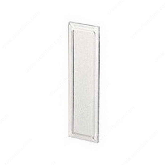 Plastic Panels For Cabinet Doors : Contemporary finger pull in plastic richelieu hardware