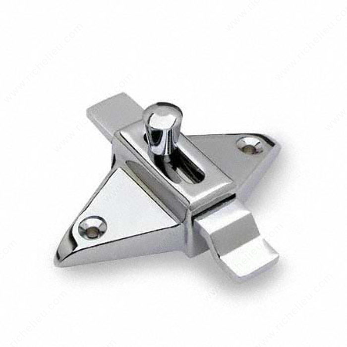 Slide latch with offset bar richelieu hardware - Commercial bathroom stall door latches ...