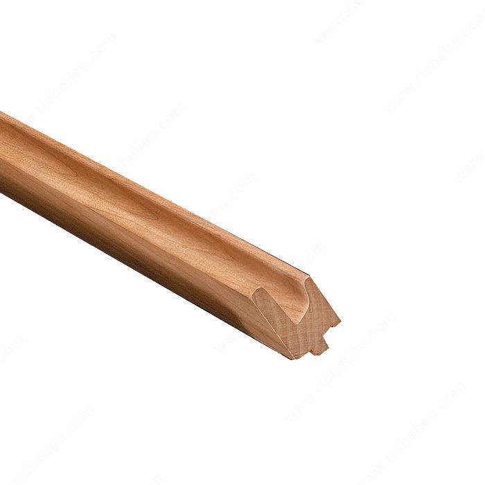 Manija de madera 3190 k24319003 richelieu hardware for Manijas para puertas de madera