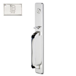Left Mortise Handle Full Dummy, Lever L6 - New York