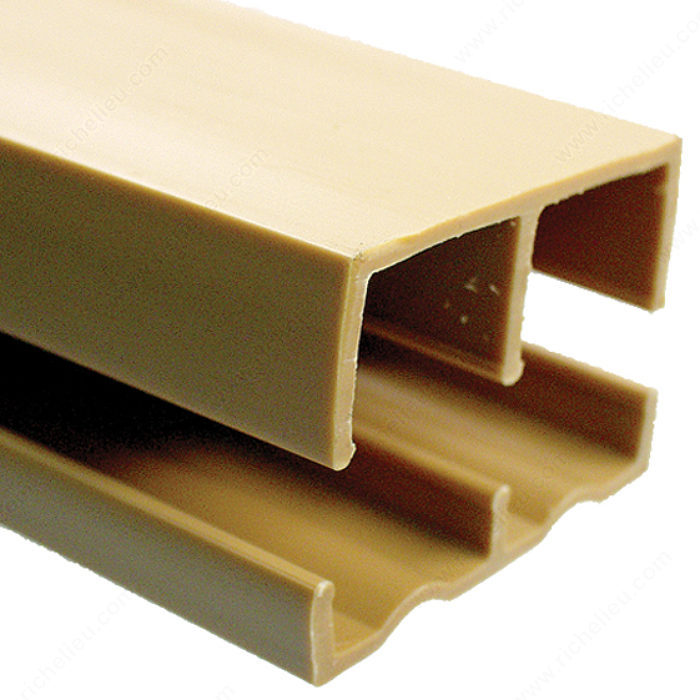 plastic track for 3  4 u0026quot  wood sliding doors