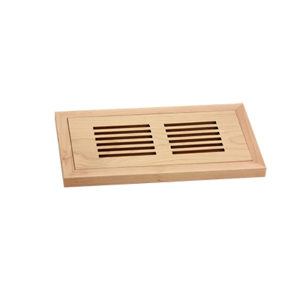 Flush-Mount Floor Register  - Wood