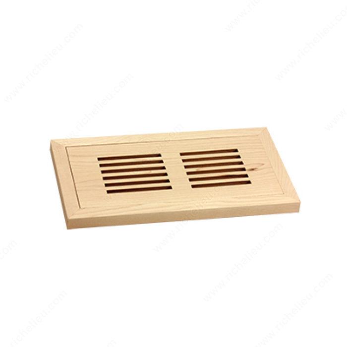 Flush Mount Floor Register Wood Richelieu Hardware