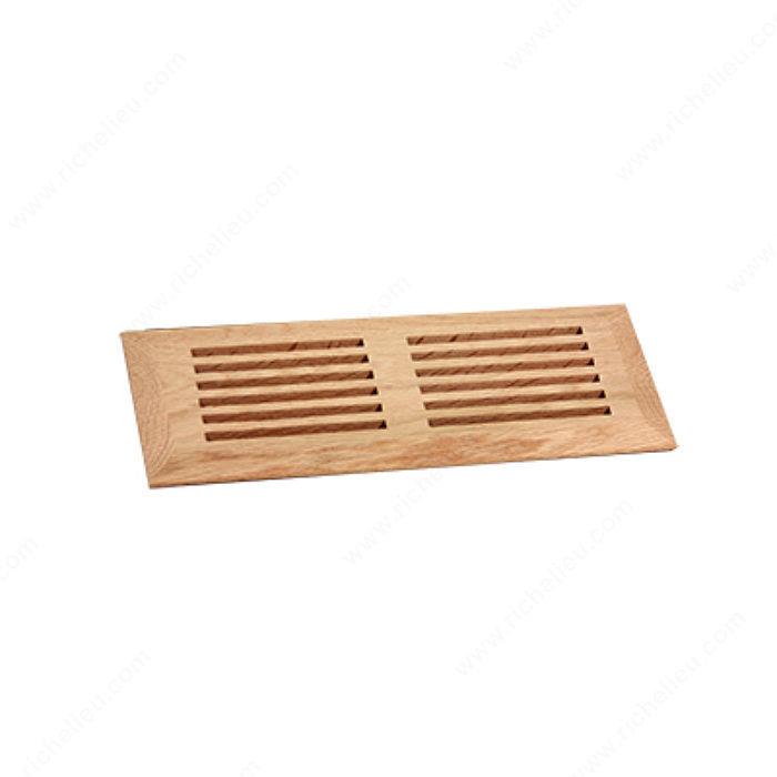 Surface mount floor register wood richelieu hardware for 6x12 wood floor register