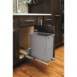 Single 20 qt. Pull-Out Waste Container