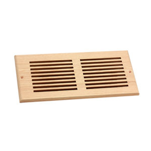 Wall Air Vent - Wood