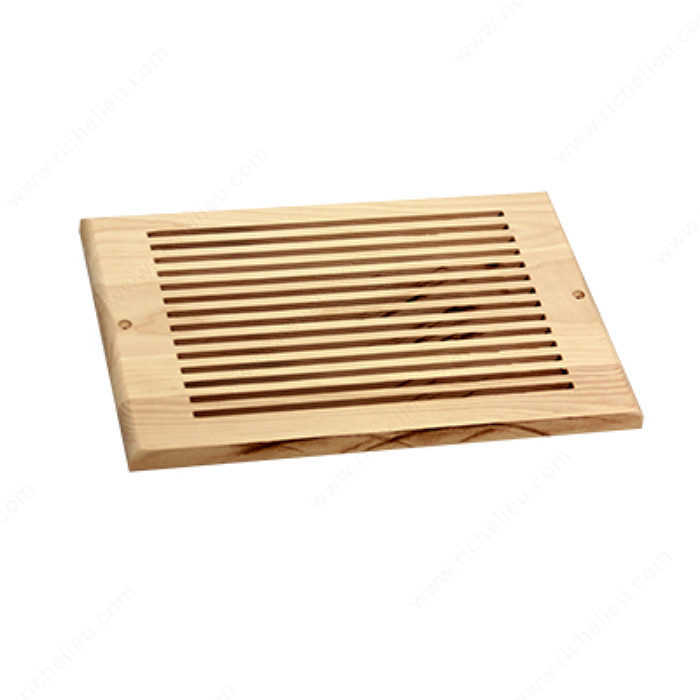 Wall air vent wood richelieu hardware for 8x10 wood floor registers