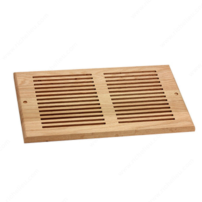 Wall Air Vent Wood Rw81425 Richelieu Hardware