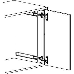 Series 1172 Flipper Door Slide