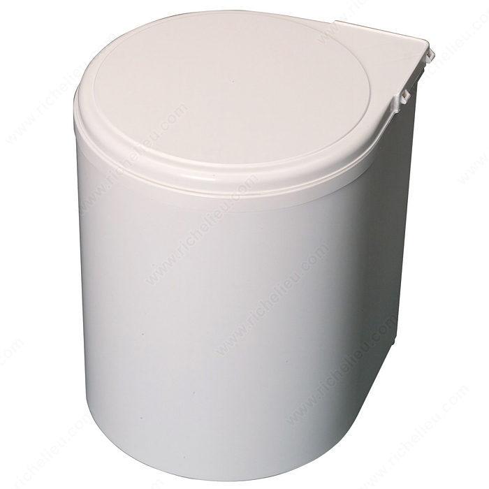 poubelle de plastique 13l quincaillerie richelieu. Black Bedroom Furniture Sets. Home Design Ideas