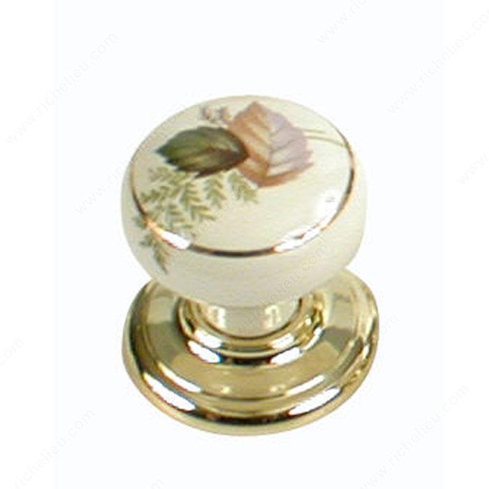 bouton traditionnel en porcelaine pour garde robe placard 9148 quincaillerie richelieu. Black Bedroom Furniture Sets. Home Design Ideas