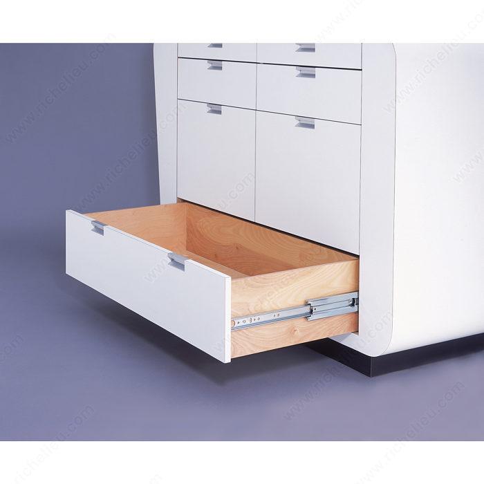 coulisse pleine extension de s rie 9301 avec roulement. Black Bedroom Furniture Sets. Home Design Ideas