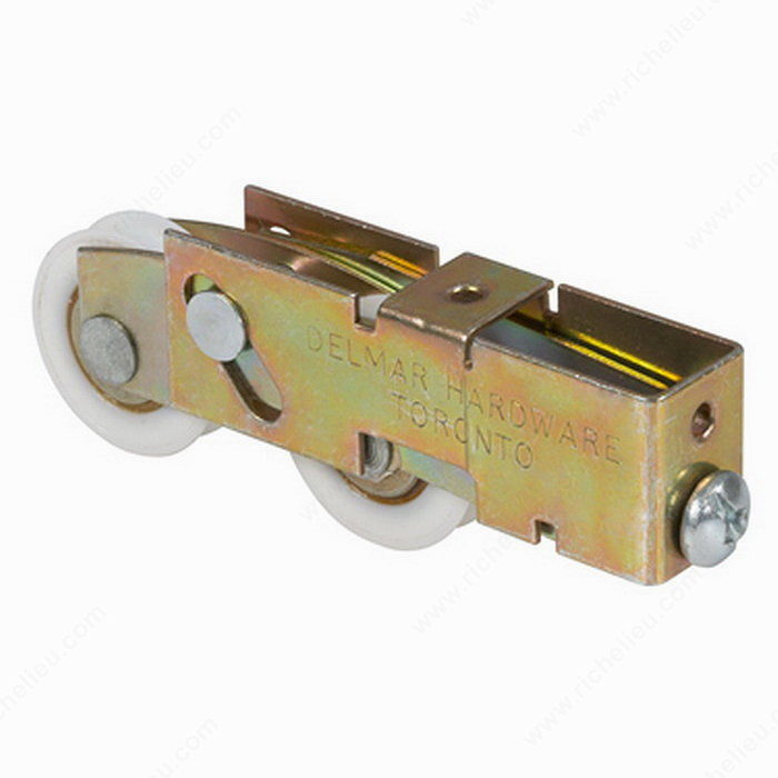 Roulettes tandem r glage en extr mit 32 mm 1 1 4 po for Reglage porte fenetre